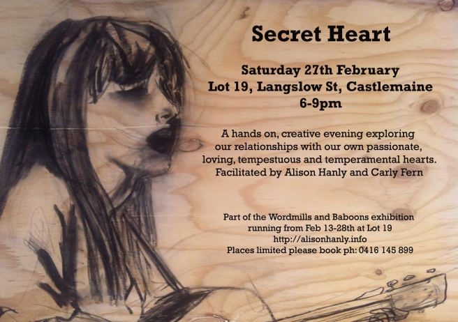 Secret Heart Flier 1